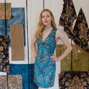 Alice + Olivia Vernon Jacquard Dress